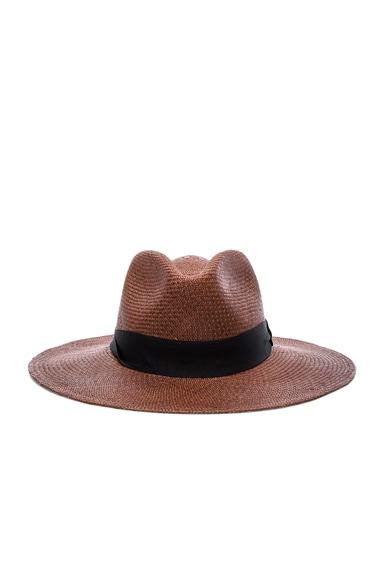 SENSI STUDIO Australiano Hat in Chocolate