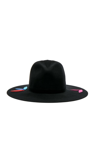 Classic Long Brim Patches Hat
