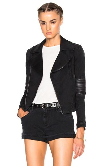 Superfine Guerilla Jacket in Black