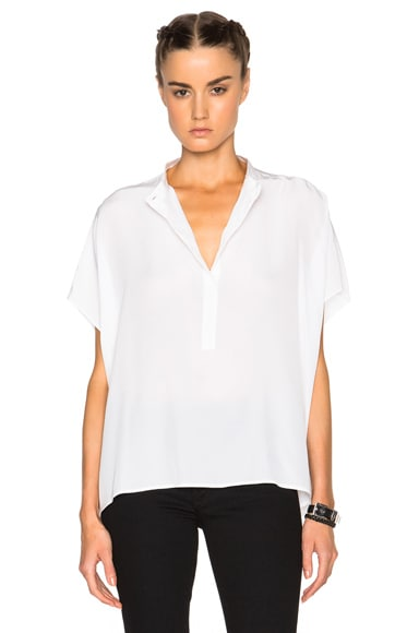 Superfine Chant Top in White