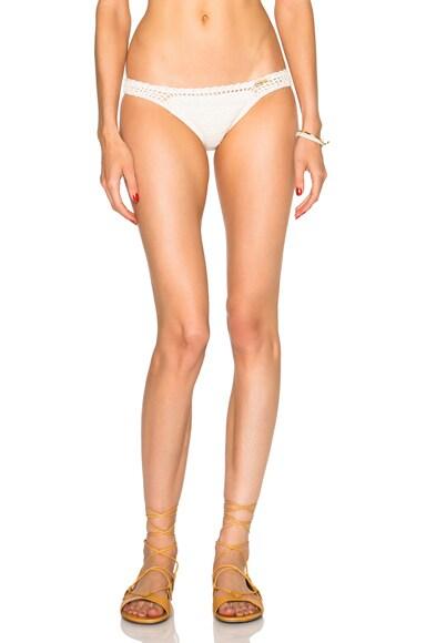 SHE MADE ME Cheeky Bikini Bottom in Natural