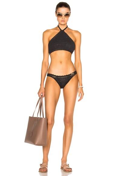 Malikah Halter Bikini Top