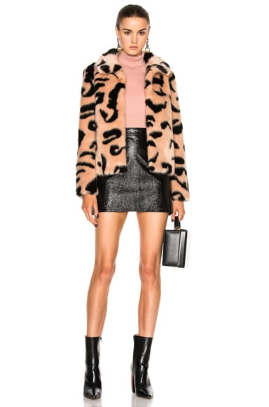 Faux Fur Bridgette Jacket