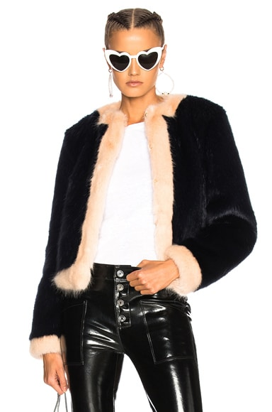 Neil Faux Fur Coat