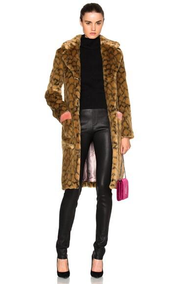 Claude Faux Fur Coat