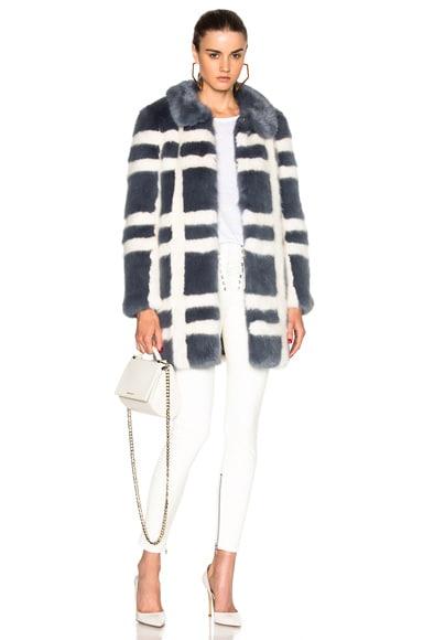 Edith Faux Fur Coat