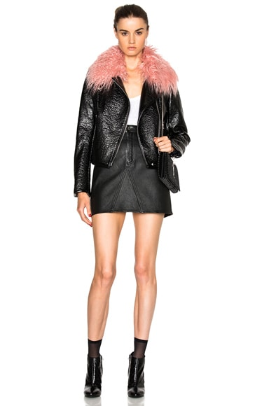 Gigi Faux Leather Jacket