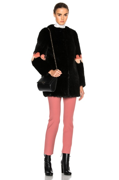 Faux Fur Frilly Joseph Coat