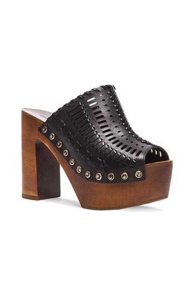 Leather Queen Heels