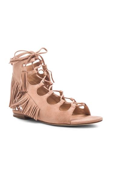 Suede Azzia Sandals