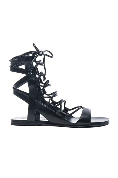 Leather Bunny Sandals