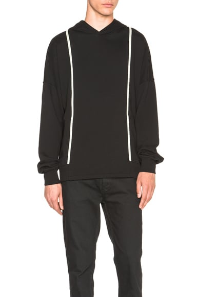 SILENT DAMIR DOMA Styx Hooded Sweatshirt in Black