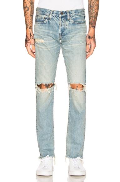 Simon Miller Aki Jeans in Light Indigo