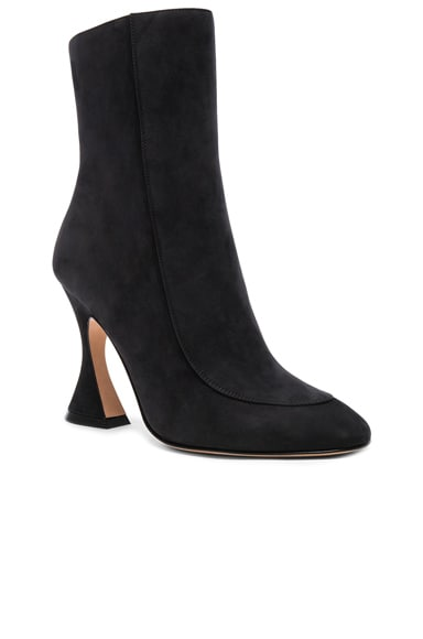 Nubuck Leather Emma Boots
