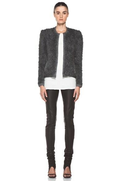 Fur Stitch Jacket