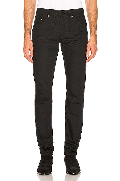 Low Rise Skinny Jeans Saint Laurent