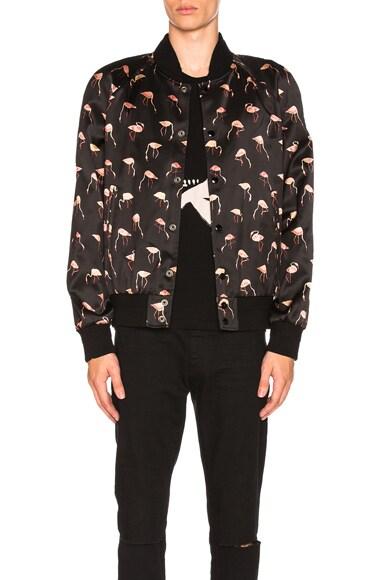 Flamingo Bomber Jacket