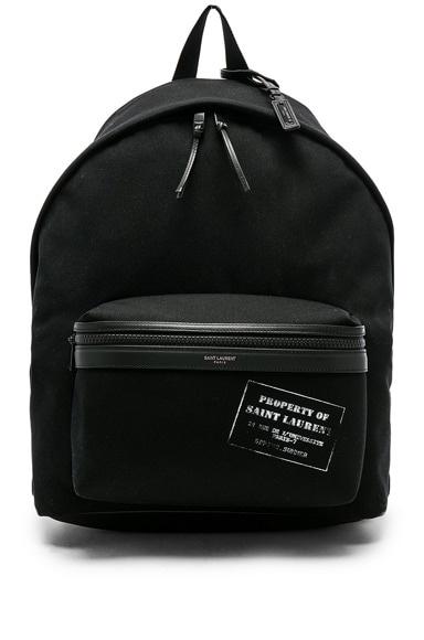 Canvas Property Backpack