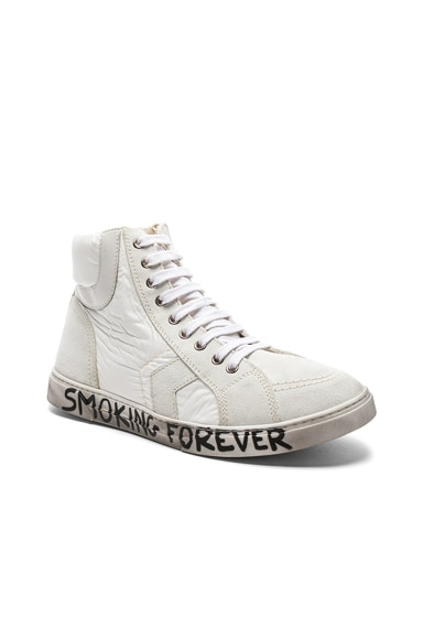 Smoking Forever High Top Sneakers