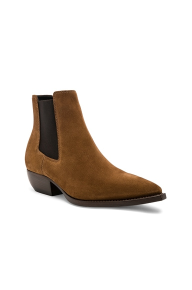 Suede Theo Chelsea Boots