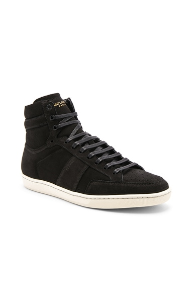Suede High Top Sneakers