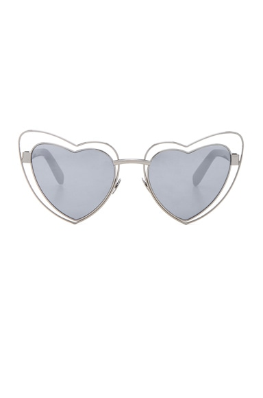Loulou Cut-Out Sunglasses