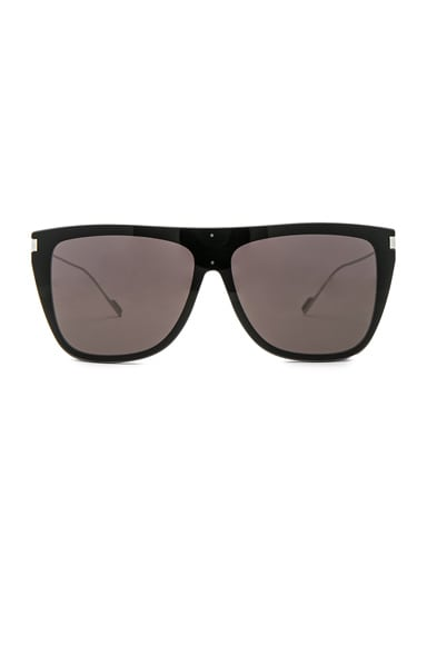 Bold Oversized Flat-Top Sunglasses