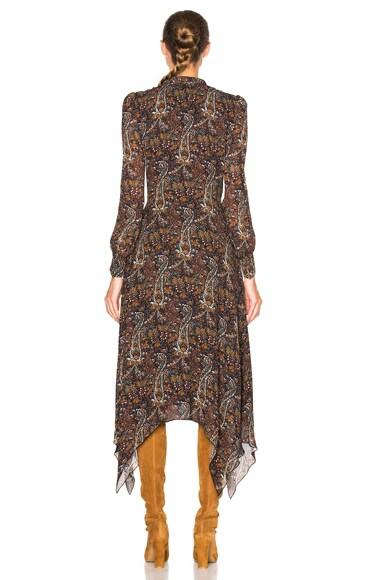 Paisley Vintage Long Dress