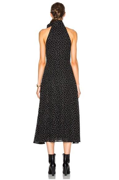 Crepe Viscose Glitter Dots Dress