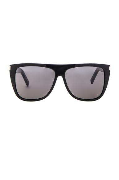 Saint Laurent SL 1 Sunglasses in Black