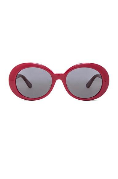 Saint Laurent SL 98 Sunglasses in Red