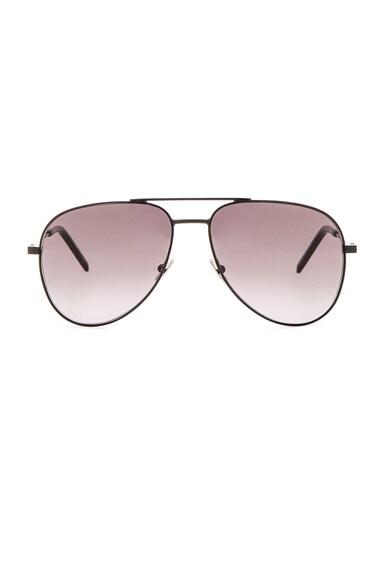 Saint Laurent Classic 11 Sunglasses in Black