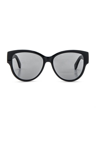 Saint Laurent SL M3 Sunglasses in Black & Grey
