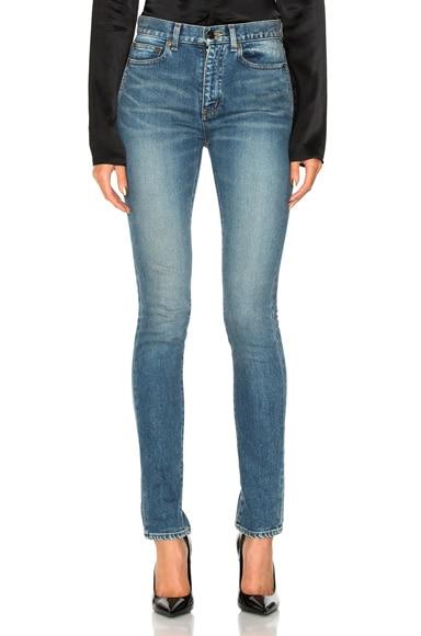 Medium Rise Jeans Saint Laurent