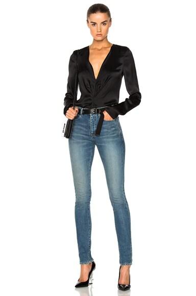 Medium Rise Jeans