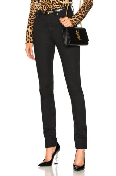 Medium Rise Skinny Jeans Saint Laurent