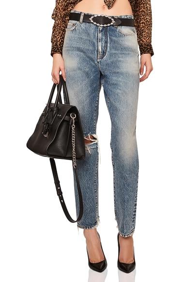 Baggy Knee Hole Jeans