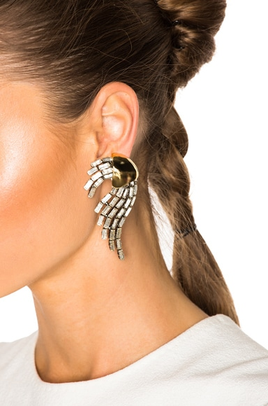 Rubans Clip Earrings