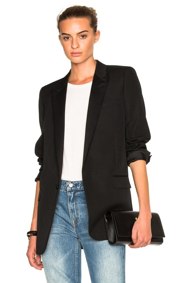 Satin Lapel Tux Jacket