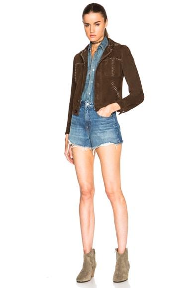Studded Suede Jacket