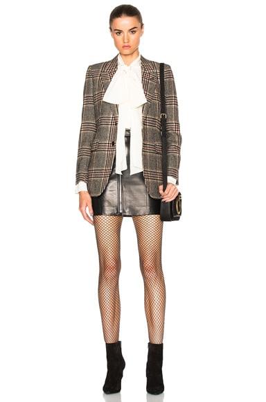 Oversize Tweed Blazer