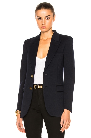 Saint Laurent New Angie Blazer in Marine