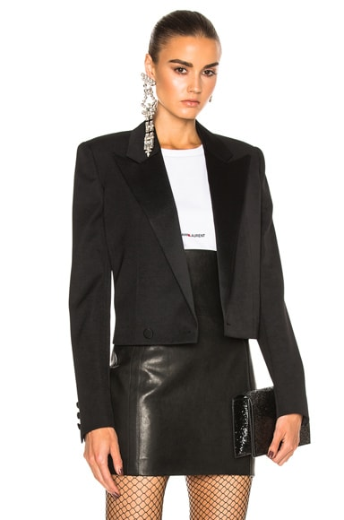 Satin Lapel Tux Jacket