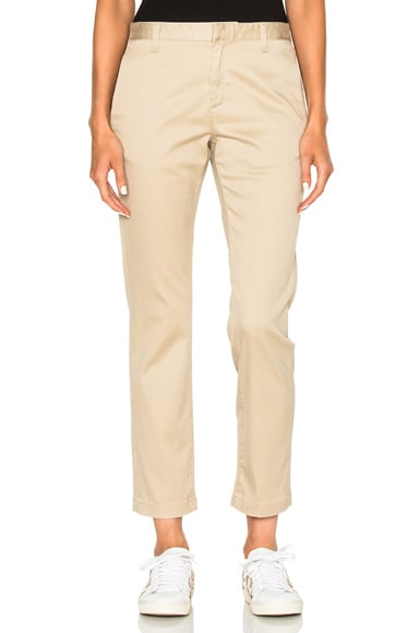 Saint Laurent Classic Chinos in Vintage Beige