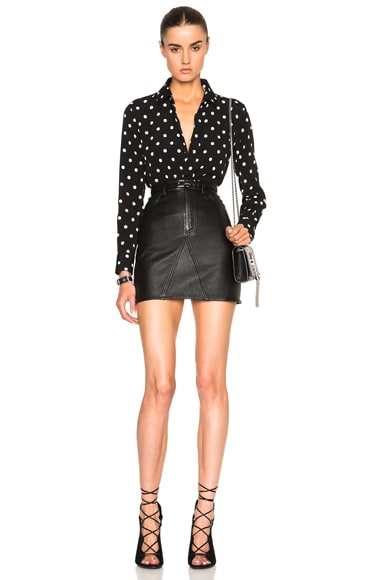 Classic Large Polka Dot Paris Blouse
