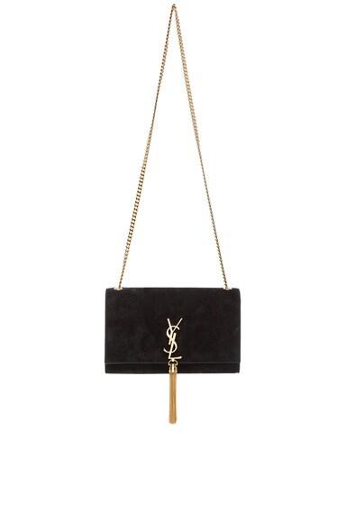 Medium Monogram Suede Chain Tassel Bag