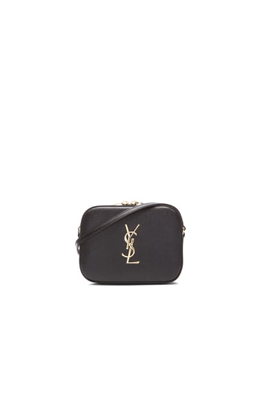Saint Laurent Monogramme Camera Bag in Black