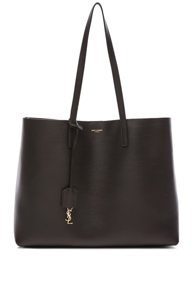 Saint Laurent Large Shopping Bag in Black