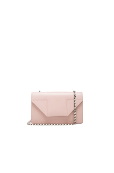 Saint Laurent Small Betty Chain Bag in Pale Blush
