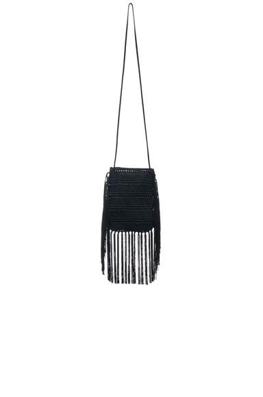 Anita Crochet Crossbody Bag